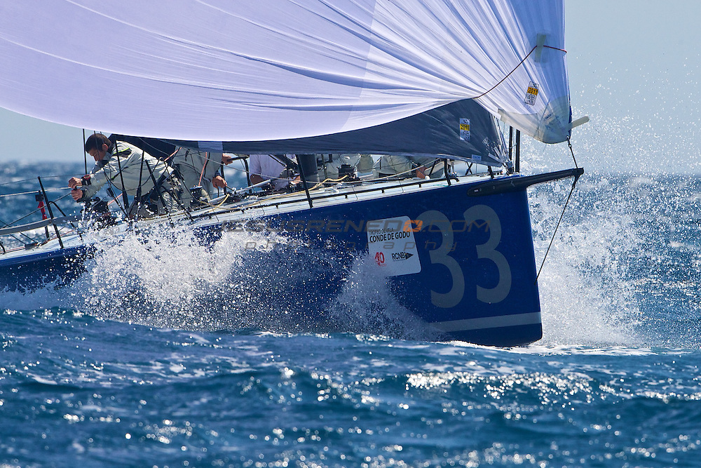 39 Trofeo de vela Conde de Godo.Second day of racing..©jrenedo.