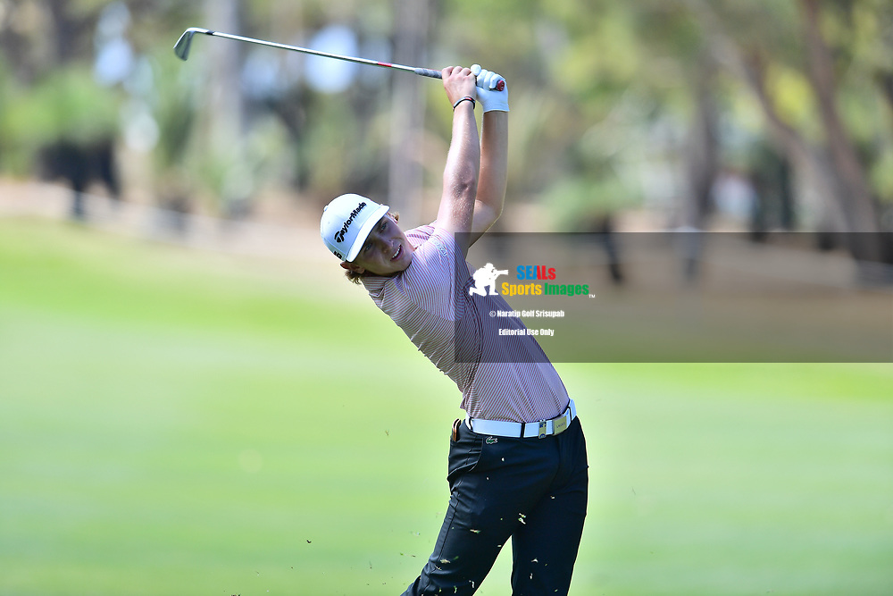 PERTH, AUSTRALIA - FEBRUARY 15: Kristoffer Reitan (FIN) on the 15th fairway during the 2nd round of the ISPS Handa World Super 6, Lake Karrinyup Country Club, Perth, Western Australia, on February 15, 2019. <br /> .<br /> .<br /> .<br /> (Photo by: Naratip Golf Srisupab/SEALs Sports Images)<br /> .<br /> Any image use must include a mandatory credit line adjacent to the content which should read: Naratip Golf Srisupab/SEALs Sports Images