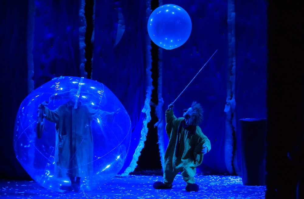 Slava's Snowshow on the opening day at Teatro Goldoni in Venice