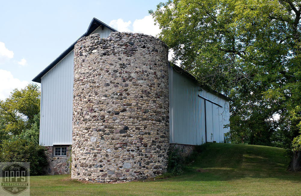 A collection of Barns that still can be seen while traveling the countryside in  the beautiful State of Wisconsin.<br /> Waukesha County-Stone Silo Hwy 67 and Country side Lane. Barns from around the State of Wisconsin.