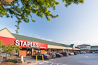 Exterior image of Pikesville Shopping Center retail Image by Jeffrey Sauers of Commercial Photographics, Architectural Photo Artistry in Washington DC, Virginia to Florida and PA to New England