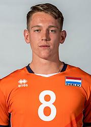 08-06-2018 NED: Photoshoot selection of Orange Young Boys, Arnhem <br /> Orange Young Boys 2018 - 2019 / Leon Luini #8 of Netherlands