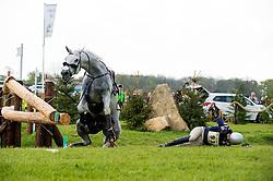 Boyd Martin, (USA), Cracker Jack<br /> CCI4* - Mitsubishi Motors Badminton Horse Trials 2016<br /> © Hippo Foto - Jon Stroud<br /> 06/05/16