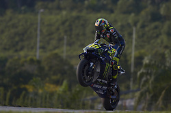 February 7, 2019 - Sepang, Malaysia - Yamaha Factory Racings rider Valentino Rossi of Italy in action during the second day of the 2019 MotoGP pre-season testing at Sepang International Circuit February 7, 2019. (Credit Image: © Zahim Mohd/NurPhoto via ZUMA Press)
