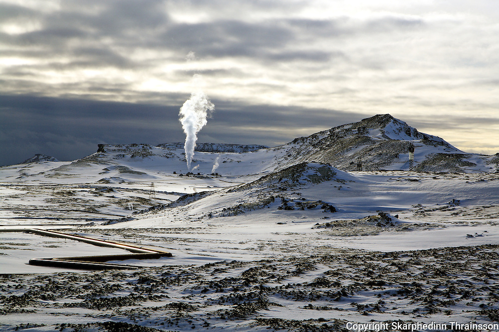 Hellisheiði, geothermal peninsula, south-west Iceland