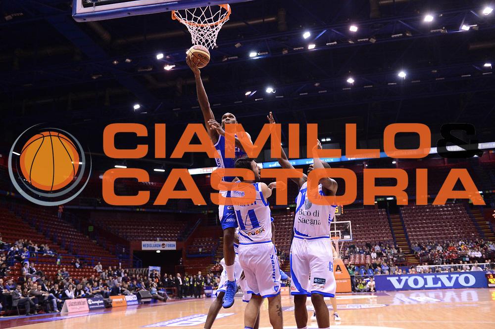 DESCRIZIONE : Milano Coppa Italia Final Eight 2013 Quarti di Finale Banco di Sardegna Sassari Enel Brindisi<br /> GIOCATORE : Cedric Simmons<br /> CATEGORIA : tiro penetrazione<br /> SQUADRA : Banco di Sardegna Sassari Enel Brindisi<br /> EVENTO : Beko Coppa Italia Final Eight 2013<br /> GARA : Banco di Sardegna Sassari Enel Brindisi<br /> DATA : 08/02/2013<br /> SPORT : Pallacanestro<br /> AUTORE : Agenzia Ciamillo-Castoria/C.De Massis<br /> Galleria : Lega Basket Final Eight Coppa Italia 2013<br /> Fotonotizia : Milano Coppa Italia Final Eight 2013 Quarti di Finale Banco di Sardegna Sassari Enel Brindisi<br /> Predefinita :