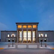 Main Elevation of Lassen County Superior Court