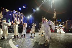 Miklavzevanje v srediscu Ljubljane, on Decembert 5, 2014, Ljubljana, Slovenia. Photo by Urban Urbanc / Sportida