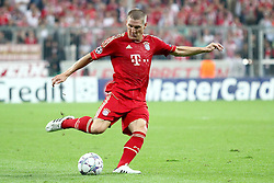 27.09.2011, Allianz Arena, Muenchen, GER, UEFA CL, FC Bayern Muenchen vs Manchester City, im Bild Bastian Schweinsteiger (Bayern #31)  // during the CL match  FC Bayern Muenchen (GER)  vs Manchester City (ENG) Gruppe A, on 2011/09/27, Allianz Arena, Munich, Germany, EXPA Pictures © 2011, PhotoCredit: EXPA/ nph/  Straubmeier       ****** out of GER / CRO  / BEL ******