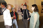 Ye Yongging, Mark Nelson, Jessie Houghton, Debbie Coates. Dream: Contemporary Chinese Art in the 21st Century. Atlantis Gallery. 11 October 2001. © Copyright Photograph by Dafydd Jones 66 Stockwell Park Rd. London SW9 0DA Tel 020 7733 0108 www.dafjones.com