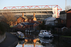 07 January 2018 FA Cup 3rd round - Nottingham Forest v Arsenal -<br /> an external general view of the Trent End at City Ground, Nottingham.<br /> (photo by Mark Leech)