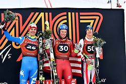 08.03.2017, Are, SWE, FIS Ski Alpin Junioren WM, Are 2017, Herren, Abfahrt, im Bild Alexander Prast ITA, Sam Morse USA och Raphael Haaser AUT // during men's Downhill of the FIS Junior World Ski Championships 2017. Are, Sweden on 2017/03/08. EXPA Pictures © 2017, PhotoCredit: EXPA/ Nisse<br /> <br /> *****ATTENTION - OUT of SWE*****