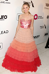 February 24, 2019 - West Hollywood, CA, USA - LOS ANGELES - FEB 24:  Madison Iseman at the Elton John Oscar Viewing Party on the West Hollywood Park on February 24, 2019 in West Hollywood, CA (Credit Image: © Kay Blake/ZUMA Wire)