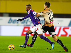 10.02.2018, Ernst Happel Stadion, Wien, AUT, 1. FBL, FK Austria Wien vs Lask, 22. Runde, im Bild Felipe Pires (FK Austria Wien), James Holland (LASK) // during Austrian Football Bundesliga Match, 22nd Round, between FK Austria Vienna and Lask at the Ernst Happel Stadion, Vienna, Austria on 2018/02/10. EXPA Pictures © 2018, PhotoCredit: EXPA/ Alexander Forst