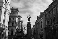 London. UK  court of justice on THe Strand / Londres . Grande Bretagne
