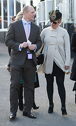 Zara Phillips  at the opening day of the Cheltenham Festival, United Kingdom, Tuesday, 11th March 2014. Picture by  i-Images