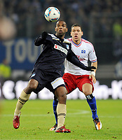 v.l. Ryan Babel, Jeffrey Bruma (HSV)<br />