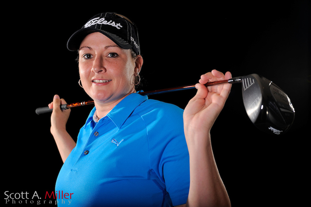Lisa Ferrero during a portrait shoot prior to the LPGA Futures Tour's Daytona Beach Invitational at LPGA International's Championship Courser on March 29, 2011 in Daytona Beach, Florida... ©2011 Scott A. Miller
