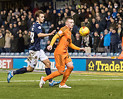 Freddie Sears during the Sky Bet Championship match between Millwall and Ipswich Town at The Den, London, England on 17 January 2015. Photo by David Charbit.