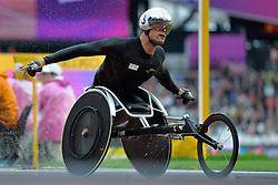 23/07/2017 : Marcel Hug (SUI), T54, Men's 5000m, Final, at the 2017 World Para Athletics Championships, Olympic Stadium, London, United Kingdom