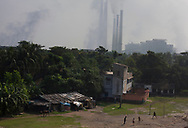 Children play in the area near Kolaghat thermal power plant in East Medinipur, India Saturday, Oct. 6, 2012 (Photo/Elizabeth Dalziel for Christian Aid)