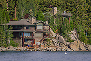 Luxury Waterfront homes on Lake Tahoe, Nevada