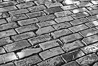 Closer look at Old San Juan's famous cobblestoned streets