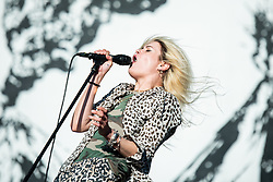 June 14, 2018 - Firenze, Firenze, Italy - The English/american indie rock band The Kills performing live on stage at the Firenze Rocks festival 2018, opening for the Foo Fighters. (Credit Image: © Alessandro Bosio/Pacific Press via ZUMA Wire)