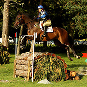 Tiny Clapham (GBR) and The Light Fandango at the 2007 Blair Horse Trials held in Blair Atholl, Scotland