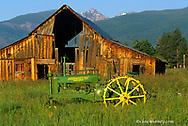 1938 John Deere BN Long Frame Tractor restored by Warren Thompson of Victor, Montana