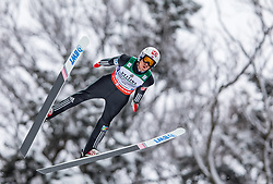 21.01.2118, Heini Klopfer Skiflugschanze, Oberstdorf, GER, FIS Skiflug Weltmeisterschaft, Teambewerb, im Bild Daniel Andre Tande (NOR) // Daniel Andre Tande of Norway during Team competition of the FIS Ski Flying World Championships at the Heini-Klopfer Skiflying Hill in Oberstdorf, Germany on 2118/01/21. EXPA Pictures © 2118, PhotoCredit: EXPA/ Peter Rinderer