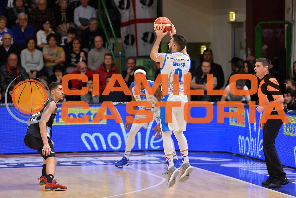 SASSARI 07 GENNAIO 2018<br /> Banco di Sardegna Dinamo Sassari - Dolomiti Energia Aquila Trento<br /> Legabasket Serie A LBA PosteMobile 2017/2018<br /> NELLA FOTO Marco Spissu<br /> FOTO CIAMILLO - Luigi Canu