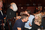 MONIKA SPRUTH; ANDREAS GURSKY; LILY DONALDSON, Opening of Morris Lewis: Cyprien Gaillard. From Wings to Fins, Sprüth Magers London Grafton St. London. Afterwards dinner at Simpson's-in-the-Strand hosted by Monika Spruth and Philomene Magers.