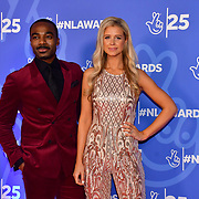Ore Oduba and Portia Oduba attends BBC1's National Lottery Awards 2019 at BBC Television Centre, 101 Wood Lane, on 15 October 2019, London, UK.