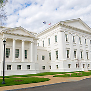 Virginia State Capitol in Richmond, Virginia