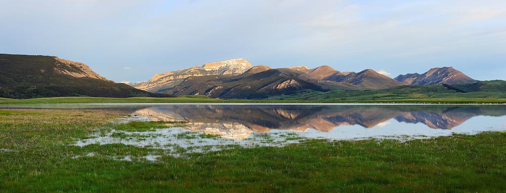 Rocky Mountain Front near Augusta, Montana.
