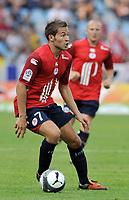 Fotball<br /> Frankrike<br /> Foto: DPPI/Digitalsport<br /> NORWAY ONLY<br /> <br /> FOOTBALL - FRENCH CHAMPIONSHIP 2009/2010 - L1 - LILLE OSC v FC LORIENT - 9/08/2009<br /> <br /> YOHAN CABAYE (LILLE)
