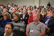 LCMS District Presidents (third row from camera) listen to a speaker at the 2015 LCMS Life Conference Friday, Jan. 23, 2015, at the Hilton in Crystal City, Va. LCMS Communications/Erik M. Lunsford