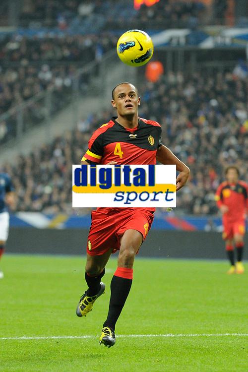 FOOTBALL - FRIENDLY GAME 2011 - FRANCE v BELGIUM - 15/11/2011 - PHOTO JEAN MARIE HERVIO / DPPI - VINCENT KOMPANY (BEL)