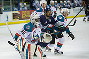 KELOWNA, CANADA - APRIL 25:  Michael Herringer #30 of the Kelowna Rockets at the Kelowna Rockets game on April 25, 2017 at Prospera Place in Kelowna, British Columbia, Canada.  (Photo By Cindy Rogers/Nyasa Photography,  *** Local Caption ***