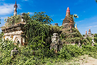 A Myint ruins old city village in Chaung-U township near Monywa