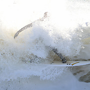 Cornish white water surfing