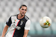 Juventus's French midfielder Adrien Rabiot during the Serie A match at Allianz Stadium, Turin. Picture date: 26th June 2020. Picture credit should read: Jonathan Moscrop/Sportimage