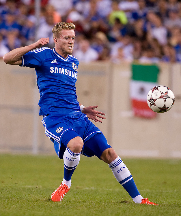 Andre Schurrle (Chelsea) - Chelsea vs. AC Milan - Guinness International Champions Cup at MetLife Stadium, East Rutherford - 04/08/2013 - Mandatory Credit: Pixel8 Photos/Jack Megaw - +44(0)7734 151429 - info@pixel8photos.com - NO UNPAID USE.