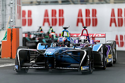 April 28, 2018 - Paris, Ile-de-France, France - France's Nicolas Prost of the Formula E team Renault e.dams competes during the practice session of the French stage of the Formula E championship around The Invalides Monument close to The Eiffel Tower in Paris on April 28, 2018. (Credit Image: © Michel Stoupak/NurPhoto via ZUMA Press)