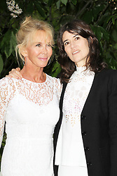 © London News Pictures. 26/06/2013. London, UK. Trudie Styler and Bella Freud at  The Serpentine Gallery summer party, Kensington Gardens London UK, 26 June 2013, Photo credit: Richard Goldschmidt/LNP