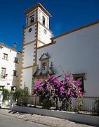 Church of the Incarnation, Andalusian village of Grazalema, Cadiz province, Spain