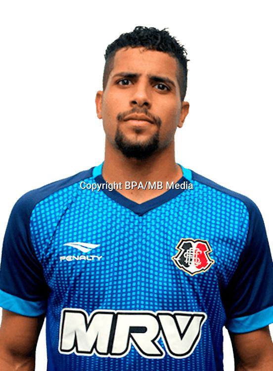 Brazilian Football League Serie B 2017 / <br /> ( Santa Cruz Futebol Clube ) - <br /> Lucas Jose da Silva