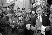 Peoples March for Jobs, Yorkshire to London. Leicester 16/05/1981