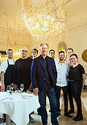 Restauranteur Frank Van Haandel and his team at the Stokehouse in Alfred Place Melbourne. Photo by Craig Sillitoe